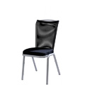 Vio COMFORTmesh Back Aluminum Stacking Side Chair with Handgrip