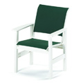 Windward Sling Restaurant Cafe Arm Chair