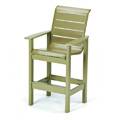 Windward Strap Restaurant Bar Stool