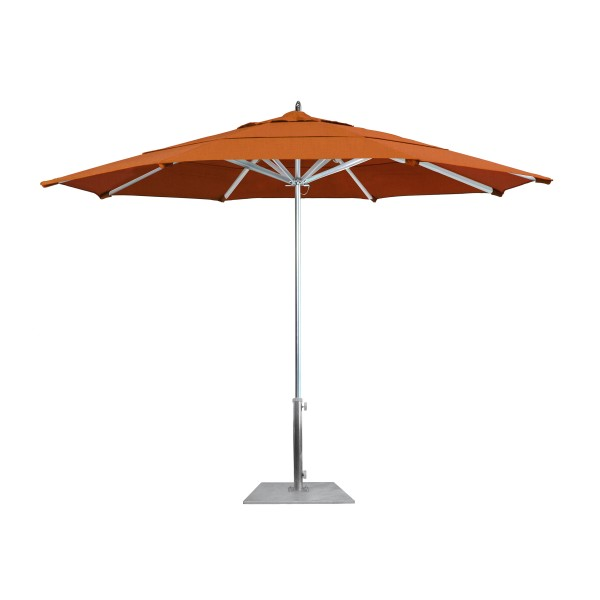 Commercial Restaurant Umbrellas Aluminum Market Umbrellas