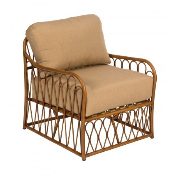 aluminum bamboo outdoor upholstered restauarnt hotel lounge seating arm chair