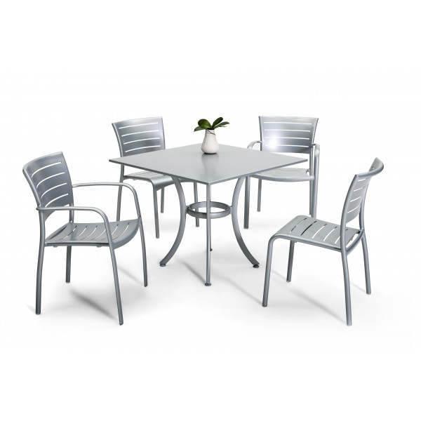 Restaurant Aluminum Patio Furniture Including Outdoor Tables ...