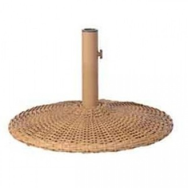 Aluminum Woven Wicker Umbrella Stands