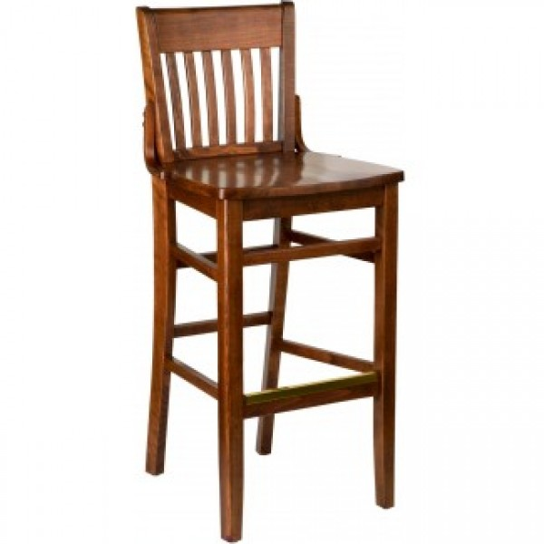 Holsag Beech Wood Restaurant Bar Stools