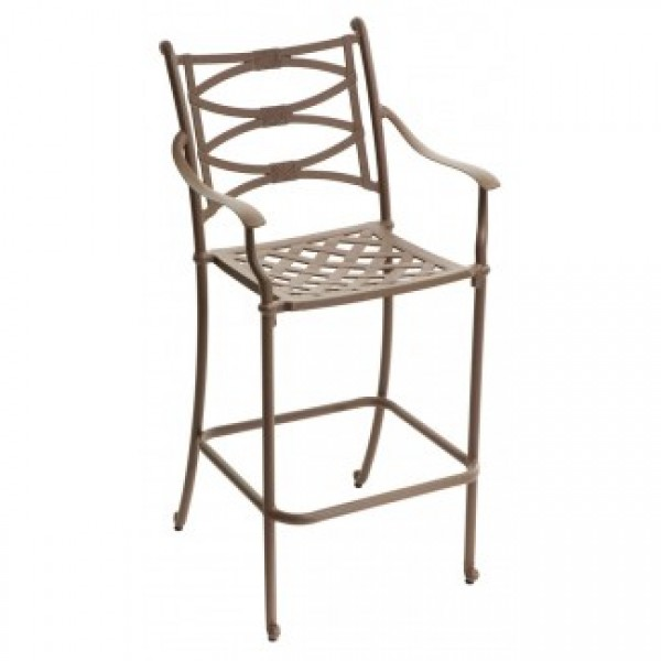 Cast Aluminum Bar Stools