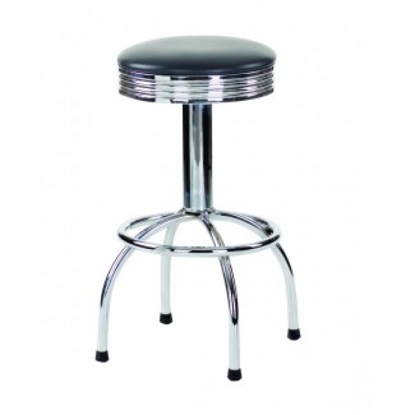 Chrome Frame Restaurant Bar Stools