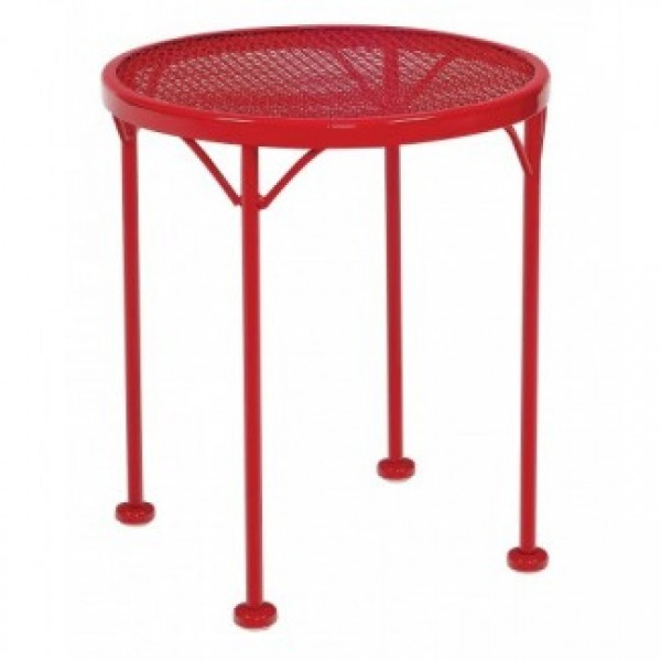 Commercial Outdoor Restaurant Hospitality Tables Wrought Iron Lounge Tables