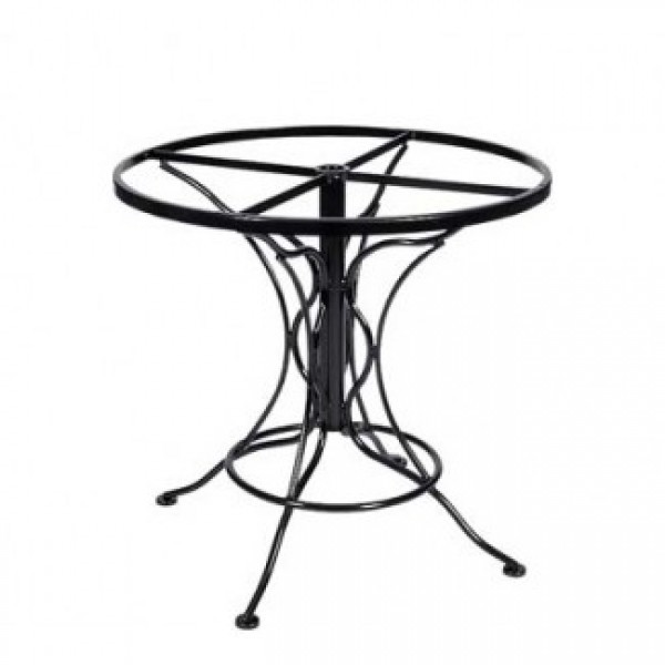 Commercial Outdoor Restaurant Table Bases Wrought Iron Table Bases