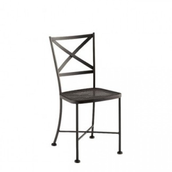 Commercial Restaurant Chairs Wrought Iron Side Chairs