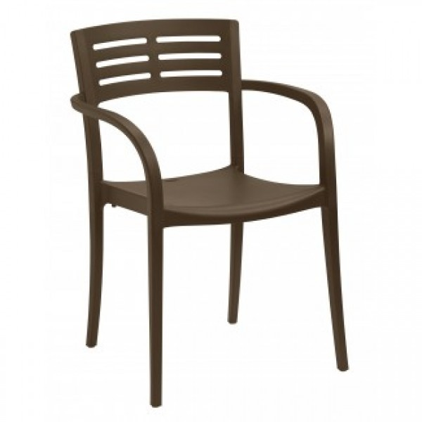 Commercial Restaurant Hospitality Outdoor Chairs Resin Stacking Chairs
