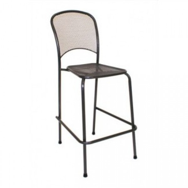 Commercial Restaurant Stools Wrought Iron Bar Stools
