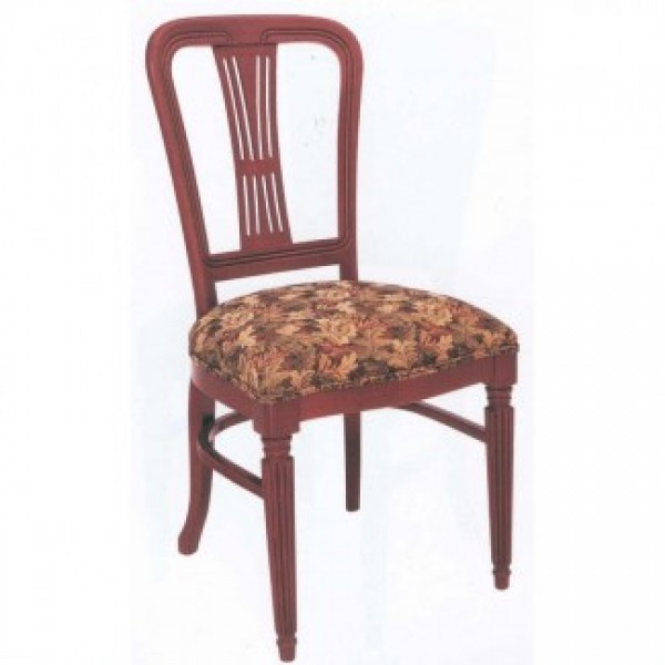 European Beech Wood Dining Chairs - Traditional