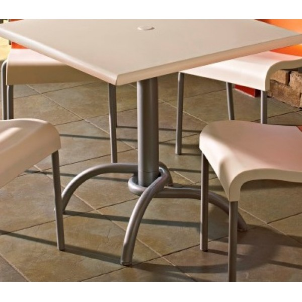 Grosfillex Commercial Indoor Table Bases for Restaurants