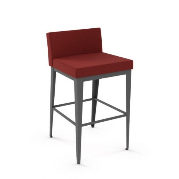 modern transitional industrial metal Commercial Restaurant Communal Counter Bar height stool indoor