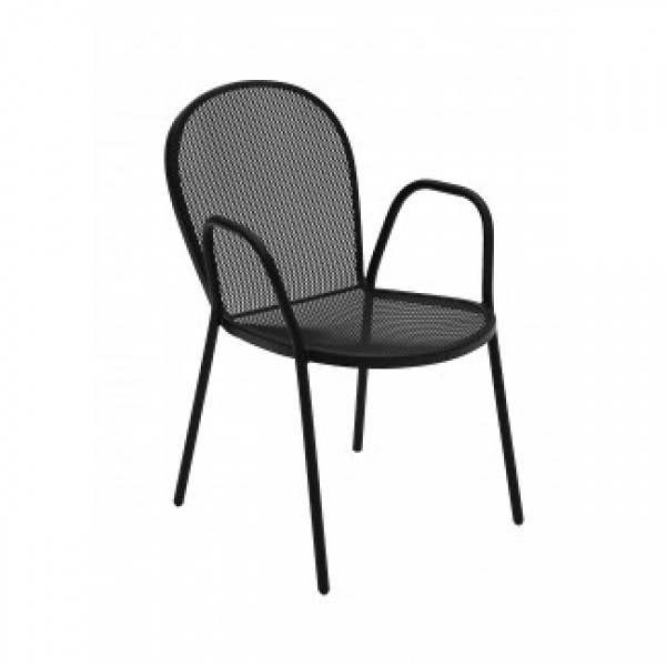 Wrought Iron Arm Chairs