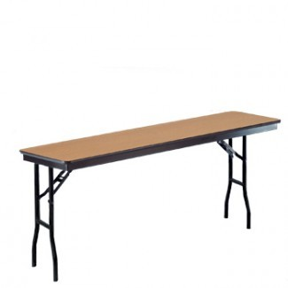 415 Series - Laminate Surface Plywood Core with Vinyl Edge Folding Banquet Tables