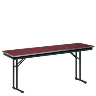 425 Series - Exposed Plywood with Galvanized Steel Edge Folding Banquet Tables