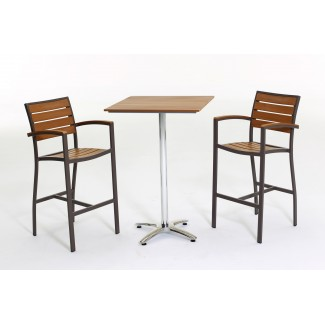 Aluminum and Teak Composite Furniture