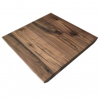 Black Walnut Live Edge Restaurant Table Tops