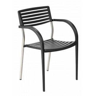 Cast Aluminum Arm Chairs