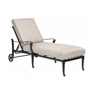 Cast Aluminum Chaise Lounges