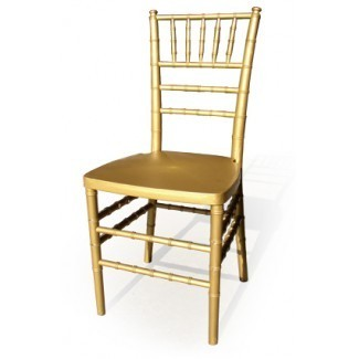 Chiavari Stacking Resin Chairs