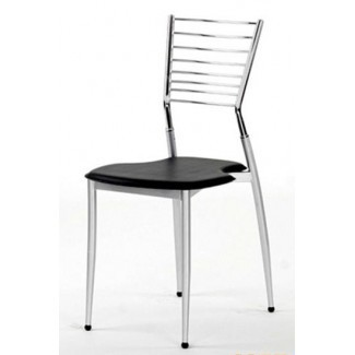 Chrome Frame Restaurant Dining Chairs