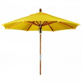 Commercial Wood Restaurant Umbrellas Teak Market Umbrellas