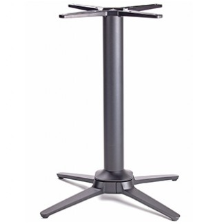 Commercial Outdoor Restaurant Table Bases Self Stabilizing Stainless Steel Table Base