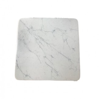 Fiberglass Carrara Marble Hospitality Table Tops