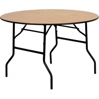 In Stock Folding Banquet Tables