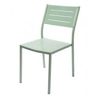 Italian Metal Cafe Emu Restaurant Side Chair stacking