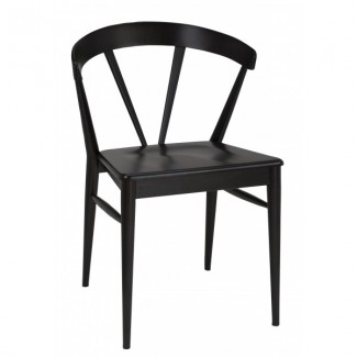 European Beech Wood Restaurant Chairs - Showroom 4