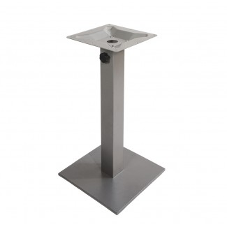 Commercial Outdoor Restaurant Table Bases Aluminum Collection Table Bases