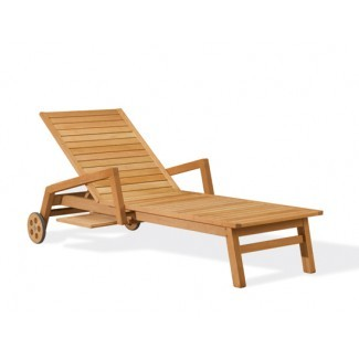 Teak Chaise Lounges