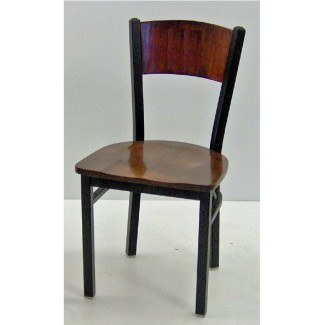 Wood Back Restaurant Dining Chairs