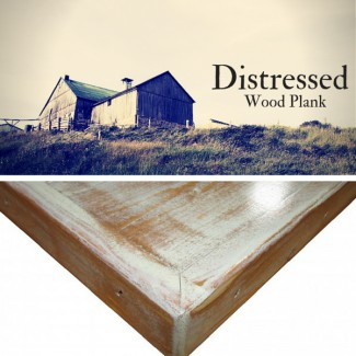 Distressed Wood Plank