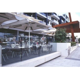 Radiant Heating Outdoor Umbrellas