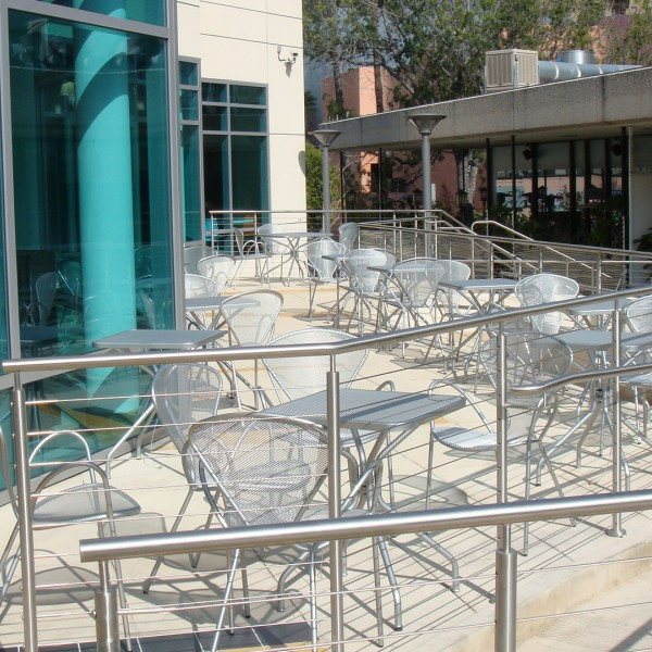 Aluminum restaurant arm chairs