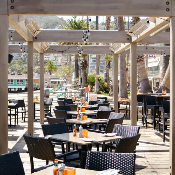 Outdoor Wicker Restaurant Chairs