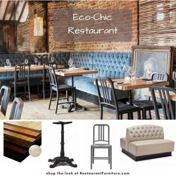 Custom Booth Seating and Recycled Restaurant Furniture