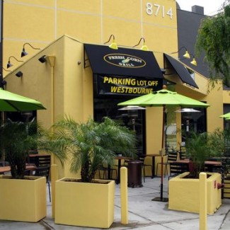 Commercial patio umbrellas