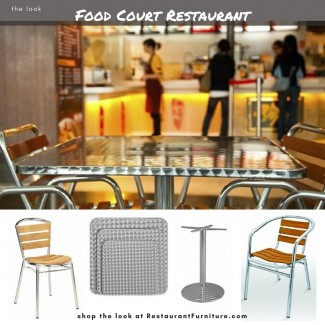 Food Court Restaurant Furniture - Fast Food Furniture