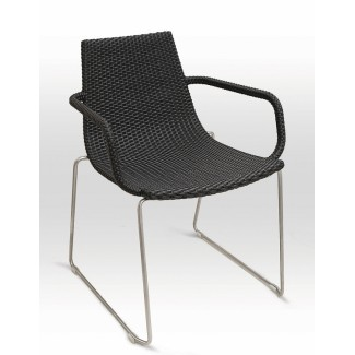 Venice Arm Chair with Woven Arms